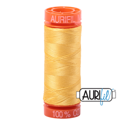 Aurifil Cotton Thread Pale Yellow 1135
