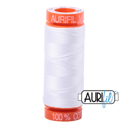 Aurifil Cotton Thread White 2024