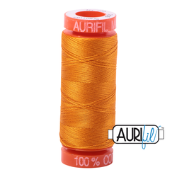 Aurifil Cotton Thread Yellow Orange 2145