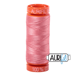Aurifil Cotton Thread Peachy Pink 2435