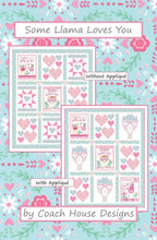 Load image into Gallery viewer, Some Llama Loves You Quilt Pattern P01917