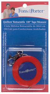 Quilters Retractable Tape Measure