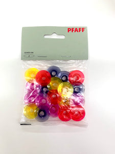 Pfaff watercolored bobbins