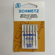 Load image into Gallery viewer, Schmetz Metallic Needles