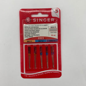 Singer Needles for Woven Fabric