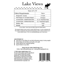 Load image into Gallery viewer, Lake Views Pattern P00270