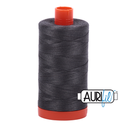 Aurifil Cotton Thread Dark Pewter 2630