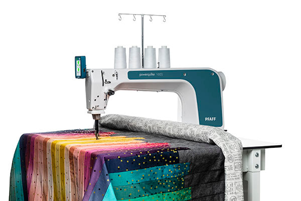 Powerquilter 1600 stationary quilter