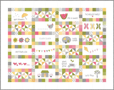 Hello Spring PATTERN by Sweetwater P03036