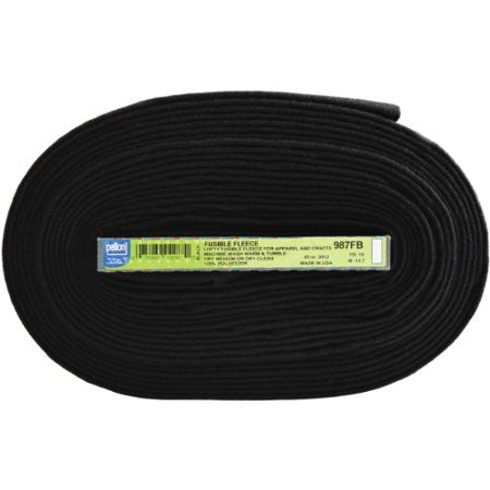 Pellon Black Fusible Fleece 987FB