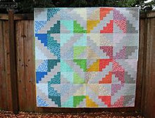 "Load image into Gallery viewer, Homebody KIT 19"" mini quilt or Pillow"