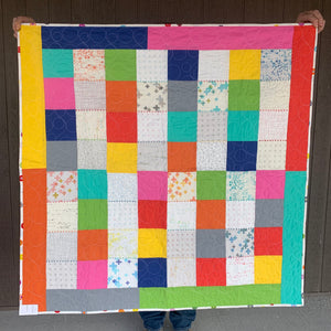 Floating Stitch Finished Quilt