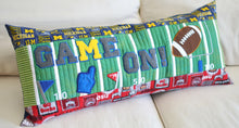 "Load image into Gallery viewer, Kimberbell ""Game On!"" Football Bench Pillow CD"