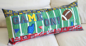 "Kimberbell ""Game On!"" Football Bench Pillow SEWING VERSION"