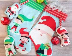 Christmas Stockings and Ornaments