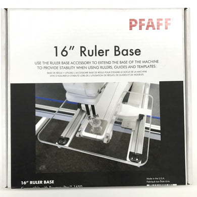 PFAFF 16 inch Ruler Base 821251096