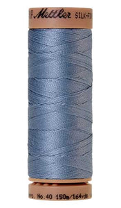 Mettler Cotton Thread 0672 30's Blue