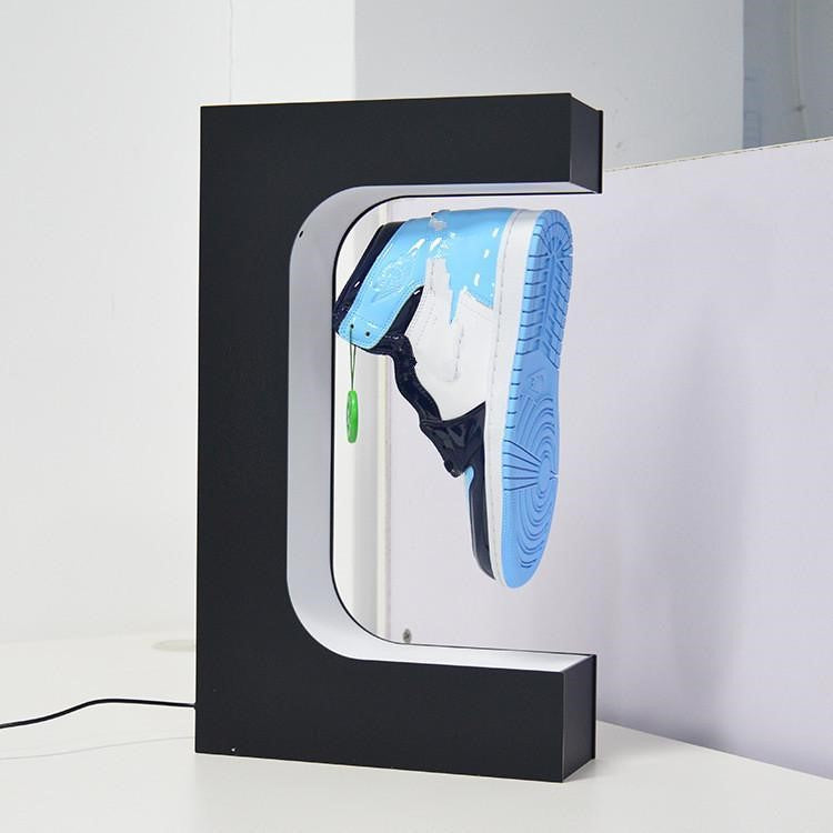Magnetic Levitating Shoe Display, 360 Degree Display for Shoes
