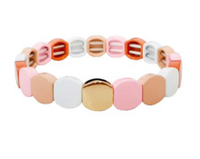 Load image into Gallery viewer, Tai Alloy Beaded Stretch Bracelet