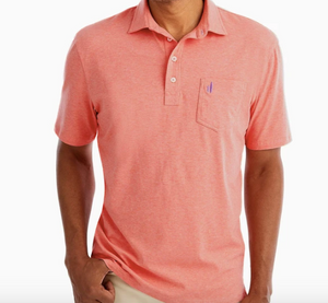 The Original 4-Button Polo - Heathered