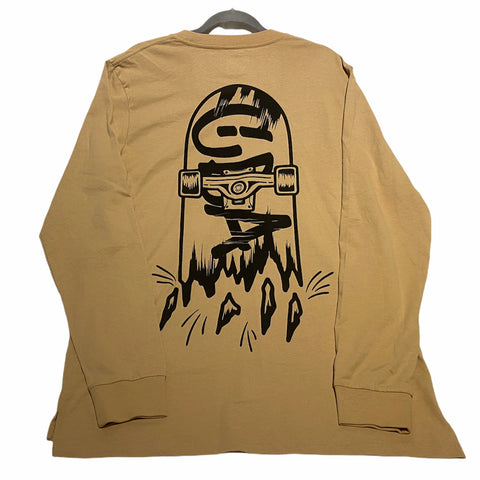 Skate Long Sleeve Tan