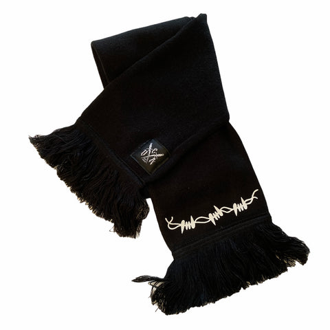 Barbed Scarf (blk)