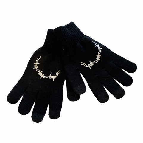 Barbed Gloves (blk)