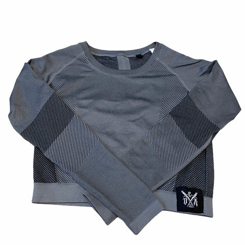 CDA Sports Top Grey/Black