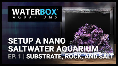 Guide to Setting up a Saltwater Nano Aquarium - #1 - Substrate, Rock, and Salt.