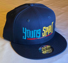 Load image into Gallery viewer, YOUNG SPIRIT (EMBROIDERED), NEW ERA® FLAT BILL SNAPBACK CAP - NE400