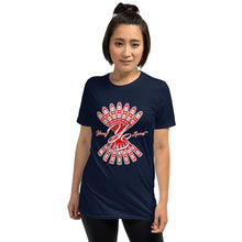 Load image into Gallery viewer, Short-Sleeve Unisex T-Shirt (Red logo)