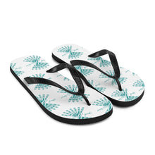 Load image into Gallery viewer, Flip-Flops (Teal Logo)