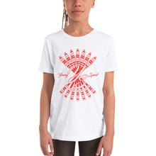 Load image into Gallery viewer, Youth Short Sleeve T-Shirt (Red Logo)