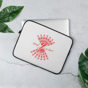 Laptop Sleeve (Red Logo)