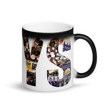 Load image into Gallery viewer, YS, Matte Black Magic Mug