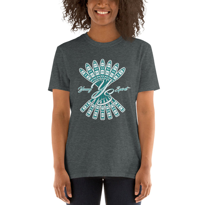 Short-Sleeve Unisex T-Shirt (Teal logo)