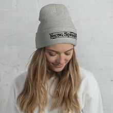 Load image into Gallery viewer, Cuffed Beanie (Black Logo)