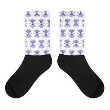Load image into Gallery viewer, Socks (Navy Logo)