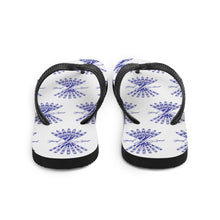 Load image into Gallery viewer, Flip-Flops (Navy Logo)