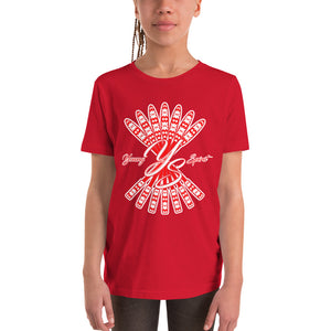 Youth Short Sleeve T-Shirt (Red Logo)