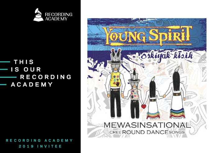 Young Spirit - Mewasinsational, GRAMMY-nominated Album