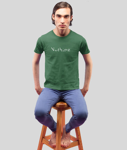 Men Graphic T-Shirt | Nothing