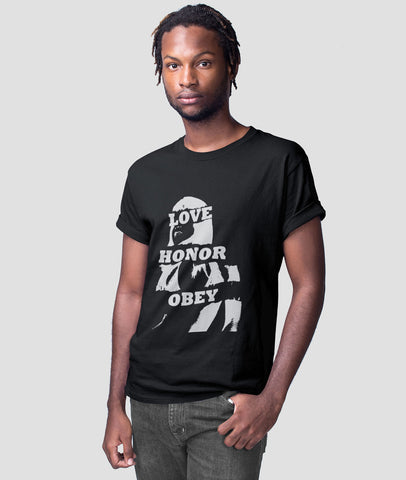 Men Graphic T-Shirt | Love Honour Obey