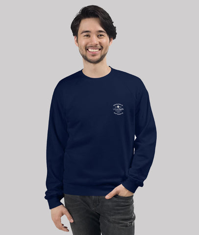 Men UrbanGarb Fleece Raglan Sweatshirt