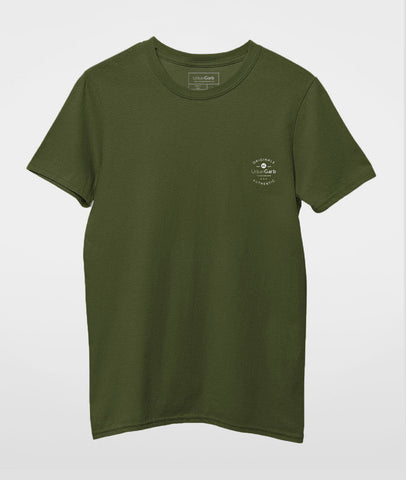 Men Round Neck T-Shirt | Solid