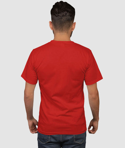 Men Graphic T-Shirt UrbanGarb Classic - Red