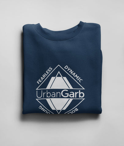 UrbanGarb Men Graphic Sweatshirt