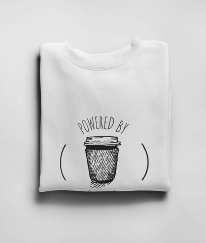 Powered By Caffeine Men Graphic Sweatshirt