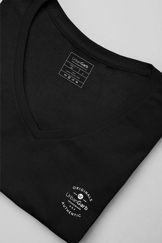 V-Neck T-Shirt | Black