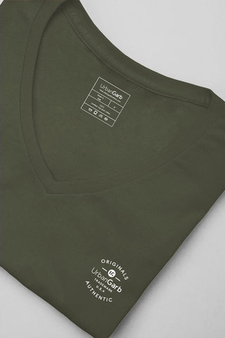 V-Neck T-Shirt | City Green